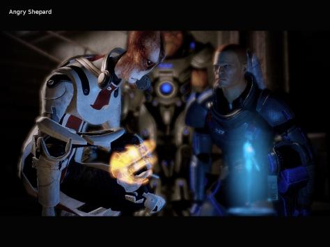 Angry Shepard